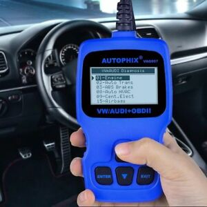 Abs Airbag Diagnostic Scanner Car Obd2 Code Reader For Vw Audi Skoda v007