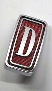 Datsun Emblem Front Grille D Truck Grill Marker Ornament Badge Rare Genuine New