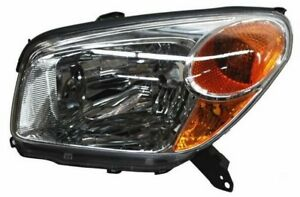 For 2004 2005 Toyota Rav4 Left Driver Headlamp Headlight Lh 04 05