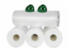 80 Rolls Coreless Pre stretch Hand Wrap Film 18 X 2000 8 Mic Free Handle