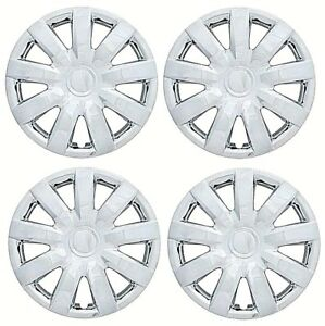 New 2004 2005 2006 Toyota Camry 15 Chrome Hubcap Wheelcover Set