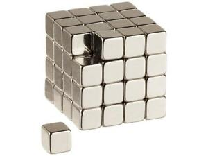 Emovendo Neodymium Rare Earth Magnets 1 4 Inch Cube N48 192pieces In Total