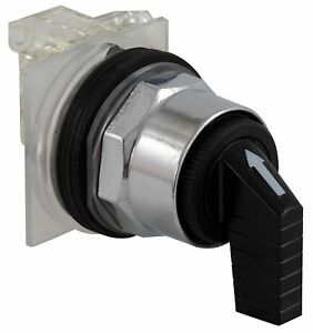 Schneider Electric Non illuminated Selector Switch Size 30mm Position 3