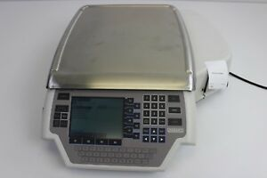 Hobart Quantum Scale Ml 029191 bj Grocery Deli W Printer Wireless Tested