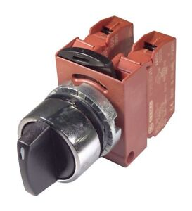 Ge Non illuminated Selector Switch Size 22mm Position 3 Action Maintained