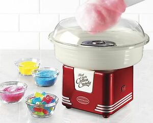 Nostalgia Retro Series Hard Sugar Free Candy Cotton Candy Maker in Stock