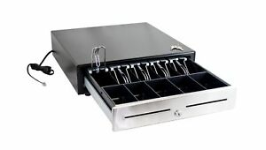 Pos ecr Cash Drawer stainless Steel Front
