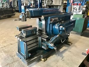 24 Stroke Cincinnati Hydraulic Horizontal Shaper 1959 Vise Superb