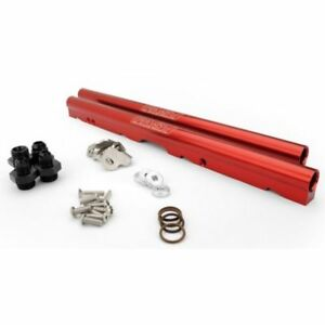 Fast 146028 kit Billet Fuel Rail Kit For Lsxrt Intake red Anodized