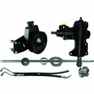 Borgeson 999020 Power Steering Conversion Kit Fits 1965 1966 Mustang