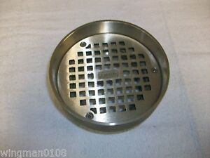 Zurn 5 I Round Floor Strainer With Raised Lip Zn400 5i 331608842 New