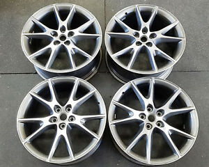 Ferrari California 20 Inch Factory Finish Wheels Rims Oem 20x8 5 X10 242156 24