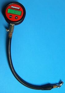 K340d Moroso Digital Tire Pressure Gauge 100 Psi Battery Operated Tested Working