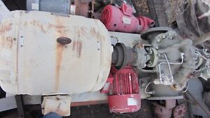 Warren Fire Pump 750gpm 150psi Model 6dbh11 Bronze Reuild With 125hp Motor