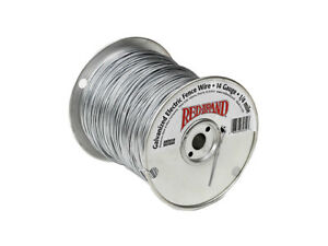 Red Brand 85611 Electric Smooth Fence Wire 1 2 Mile 14 Gauge