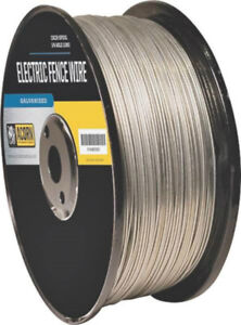 Acorn Efw1414 Galvanized Electric Fence Wire 14 Gauge