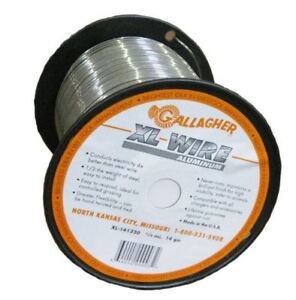 Gallagher Axl141320 Xl Aluminum Electric Fence utility Wire 14 gauge 1320