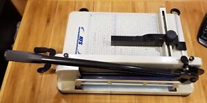 Hfs Heavy Duty Guillotine Paper Cutter 12 Commercial Free Blades Included