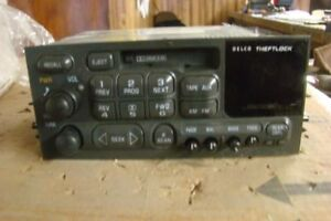 Audio Equipment Radio Fits 99 00 Escalade 85794