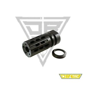 DB TAC Muzzle Brake 5 8 x 24Thread for .308 300blackout With Free Crush Washer $25.99