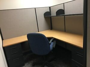 Herman Miller Office Cubicles 6x7ft Panels Tabletops