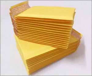 500 Packs Kraft Bubble Padded Envelope 4 X 7 Shipping Supplies