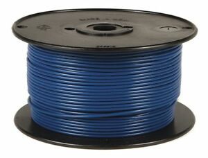 Battery Doctor 10 Awg Stranded Gpt pvc Primary Wire 60v Blue 500 Ft 81055