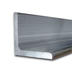 6061 t6 Aluminum Structural Angle 2 1 2 X 3 1 2 X 72 Long 1 4