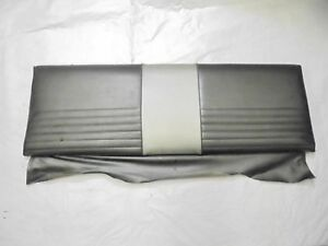 1965 1970 Mustang Fastback Rear Seat Upper Fold Down Back Top