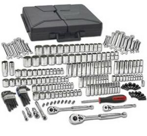 216 Pc Sae Metric 6 12 Pt Mechanics Tool Set Multi Drive Kdt 80933 New