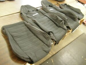 Oem Ford 2015 2018 Mustang Recaro Seat Covers New T O Interior 2016 2017 Nos