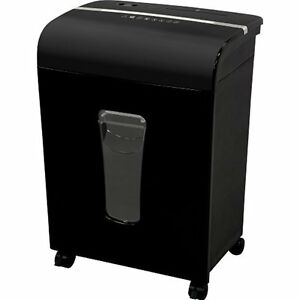 Fm120p 12 sheet High Security Micro cut Paper cd credit Card Shredder With Black