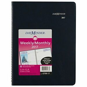 Weekly Monthly Planner Appointment Book 2017 8 1 4 X 10 7 8 Fashion Scenic