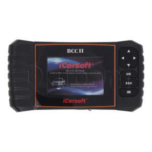 Bcc Ii Icarsoft Chrysler Jeep Gm Chevrolet Buick Cadilac Obd2 Diagnostic
