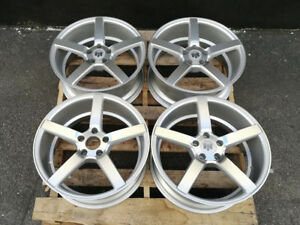 Used 18x8 Inch Wheels 5x114 3 Et 35 Silver For Toyota Supra Mkiii Mkiv Turbo