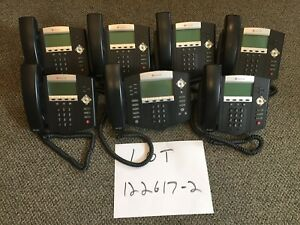 Polycom Soundpoint Ip Sip Phones lot Of 7 qty 6 Ip450 s qty 1 Ip650 lot