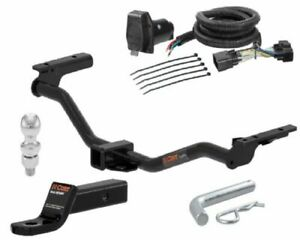 Curt Class 3 Trailer Hitch Tow Package W 2 Ball For Ford Explorer
