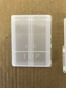 Double Plastic Microscope Slide Mailer Lot Of 100