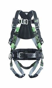 Miller Revolution Full Body Safety Harness With Suspension Loop Quick connec