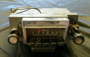 Vintage Philco 12v Neg Gd Radio Am Fomoco Ford Original Car Pickup Truck