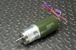 Maxon 2260 815 55 216 200 Dc Brush Motor With 4 5 1 Gear Reduction
