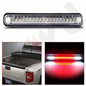 Chrome Led 3rd Brake Tail Light For 1988 1998 Chevy Gmc C K1500 Silverado Sierra