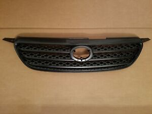 Fits 2005 2006 Toyota Corolla Upper Grille Gray On Front Bumper New