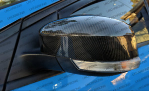 Ukcarbon Carbon Fibre Wing Mirror Cover Replacements For Ford Focus Rs Mk3