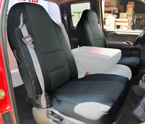 Dodge Ram 1998 2002 Black S Leather Custom Made Fit Front Seat Cover