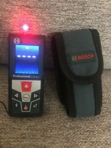 Bosch Laser 165 Foot Measure Tool Professional Glm 50c In Soft Case