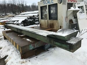 Livonia Magnetics Model 0 17 Magnetic Conveyor 17 Lenght 18 Inch Width
