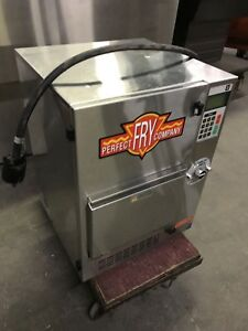 Perfect Fry Pfc5700 Pfc 5700 Semi Automatic Self Venting Hoodless Deep Fryer