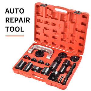 21pcs Ball Joint Auto Repair Tools Service Remover Installing Master Adapter Car