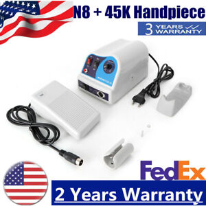 Dental Lab Marathon Electric Micromotor Polishing Unit N8 45k Rpm Handpiece Top
